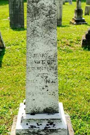 CLINESMITH, MARY - Richland County, Ohio | MARY CLINESMITH - Ohio Gravestone Photos