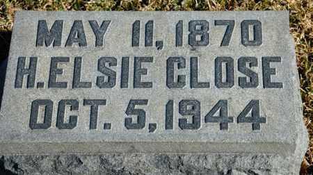 CLOSE, H ELSIE - Richland County, Ohio | H ELSIE CLOSE - Ohio Gravestone Photos