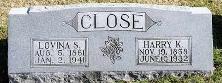 CLOSE, LOVINA S - Richland County, Ohio | LOVINA S CLOSE - Ohio Gravestone Photos