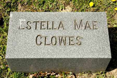 CLOWES, ESTELLA MAE - Richland County, Ohio | ESTELLA MAE CLOWES - Ohio Gravestone Photos