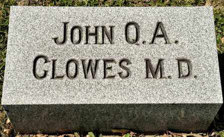 CLOWES, JOHN Q A - Richland County, Ohio | JOHN Q A CLOWES - Ohio Gravestone Photos