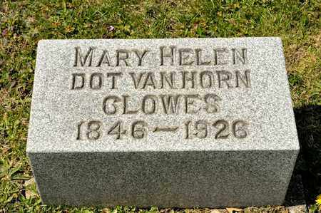 "VANHORN CLOWES, MARY HELEN ""DOT"" - Richland County, Ohio 