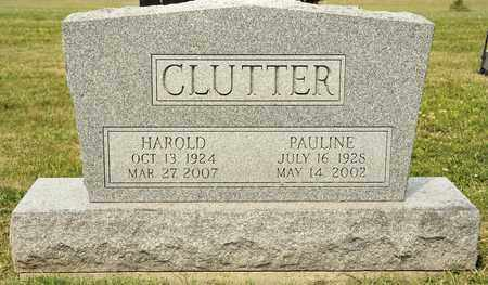 CLUTTER, PUALINE - Richland County, Ohio | PUALINE CLUTTER - Ohio Gravestone Photos