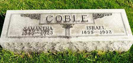 COBLE, ISRAEL - Richland County, Ohio | ISRAEL COBLE - Ohio Gravestone Photos
