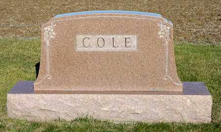 COLE, DUANE ROGER - Richland County, Ohio | DUANE ROGER COLE - Ohio Gravestone Photos