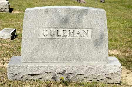 COLEMAN, CHARLES E - Richland County, Ohio | CHARLES E COLEMAN - Ohio Gravestone Photos