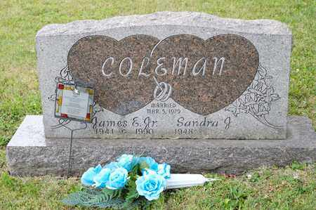 COLEMAN JR, JAMES E - Richland County, Ohio | JAMES E COLEMAN JR - Ohio Gravestone Photos