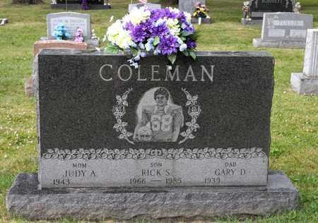 COLEMAN, RICK S - Richland County, Ohio | RICK S COLEMAN - Ohio Gravestone Photos
