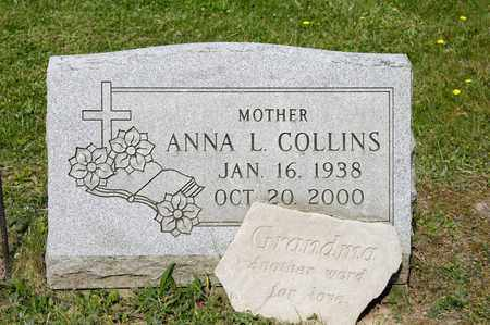 COLLINS, ANNA L - Richland County, Ohio | ANNA L COLLINS - Ohio Gravestone Photos