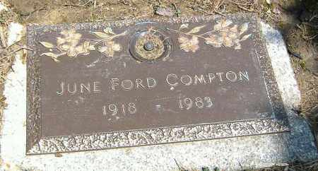 FORD COMPTON, JUNE A. - Richland County, Ohio | JUNE A. FORD COMPTON - Ohio Gravestone Photos