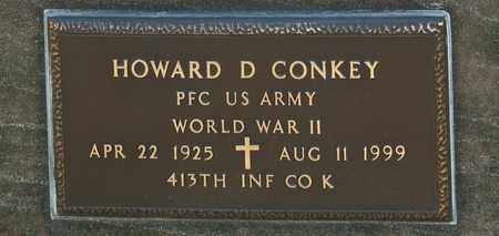 CONKEY, HOWARD D - Richland County, Ohio | HOWARD D CONKEY - Ohio Gravestone Photos