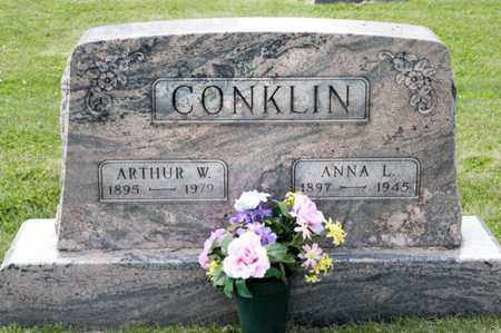 CONKLIN, ARTHUR W - Richland County, Ohio | ARTHUR W CONKLIN - Ohio Gravestone Photos