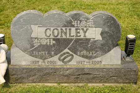 CONLEY, JANET E - Richland County, Ohio | JANET E CONLEY - Ohio Gravestone Photos