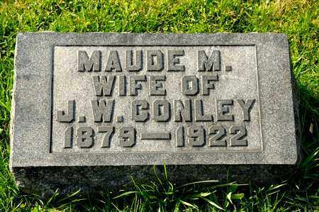 CONLEY, MAUDE M - Richland County, Ohio | MAUDE M CONLEY - Ohio Gravestone Photos