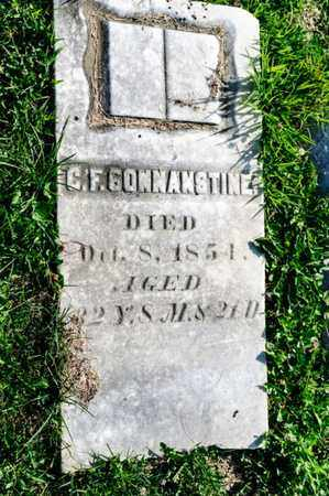 CONNANSTINE, C F - Richland County, Ohio | C F CONNANSTINE - Ohio Gravestone Photos