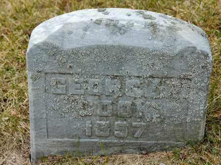 COOK, GEORGE R - Richland County, Ohio | GEORGE R COOK - Ohio Gravestone Photos