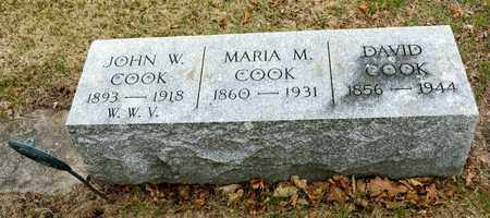 COOK, DAVID - Richland County, Ohio | DAVID COOK - Ohio Gravestone Photos