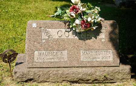 COOKE, MAURICE S - Richland County, Ohio | MAURICE S COOKE - Ohio Gravestone Photos