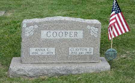 COOPER, CLAYTON D - Richland County, Ohio | CLAYTON D COOPER - Ohio Gravestone Photos