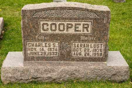 LUST COOPER, SARAH - Richland County, Ohio | SARAH LUST COOPER - Ohio Gravestone Photos