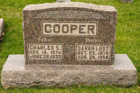 COOPER, SARAH - Richland County, Ohio | SARAH COOPER - Ohio Gravestone Photos