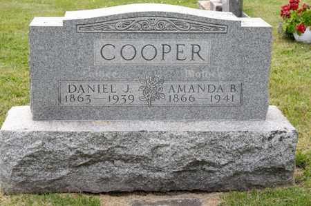 COOPER, AMANDA B - Richland County, Ohio | AMANDA B COOPER - Ohio Gravestone Photos