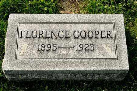 COOPER, FLORENCE - Richland County, Ohio | FLORENCE COOPER - Ohio Gravestone Photos