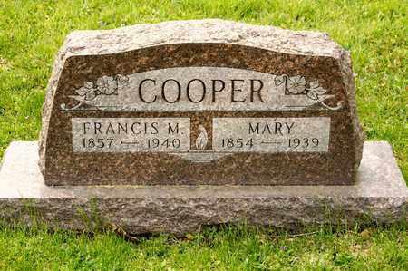 COOPER, MARY - Richland County, Ohio | MARY COOPER - Ohio Gravestone Photos