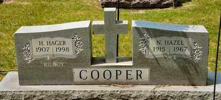 COOPER, N HAZEL - Richland County, Ohio | N HAZEL COOPER - Ohio Gravestone Photos