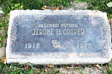 COOPER, JEROME B - Richland County, Ohio | JEROME B COOPER - Ohio Gravestone Photos