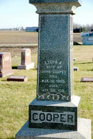 COOPER, LYDIA A - Richland County, Ohio | LYDIA A COOPER - Ohio Gravestone Photos