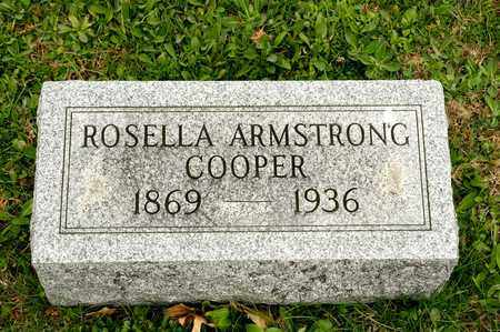 ARMSTRONG COOPER, ROSELLA - Richland County, Ohio | ROSELLA ARMSTRONG COOPER - Ohio Gravestone Photos
