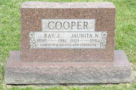 COOPER, RAY J - Richland County, Ohio | RAY J COOPER - Ohio Gravestone Photos