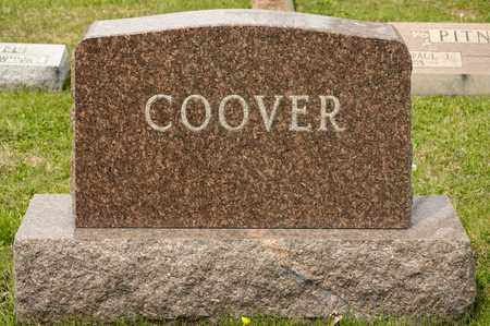 COOVER, JESSE A - Richland County, Ohio | JESSE A COOVER - Ohio Gravestone Photos