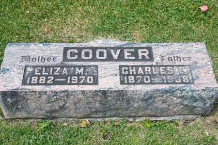 COOVER, CHARLES E - Richland County, Ohio | CHARLES E COOVER - Ohio Gravestone Photos