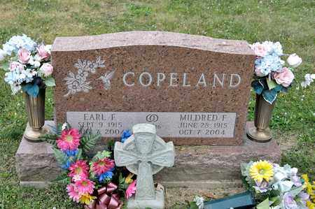 COPELAND, MILDRED F - Richland County, Ohio | MILDRED F COPELAND - Ohio Gravestone Photos
