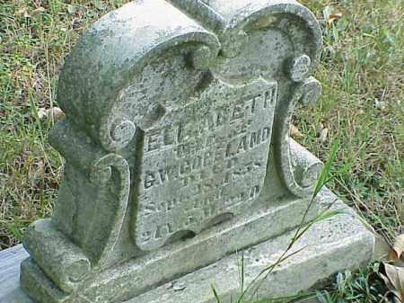 COPELAND, ELIZABETH - Richland County, Ohio | ELIZABETH COPELAND - Ohio Gravestone Photos