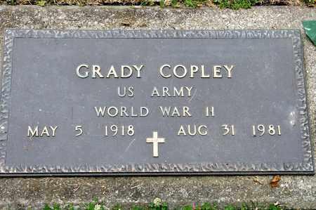 COPLEY, GRADY - Richland County, Ohio | GRADY COPLEY - Ohio Gravestone Photos