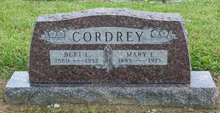 CORDREY, BERT L - Richland County, Ohio | BERT L CORDREY - Ohio Gravestone Photos