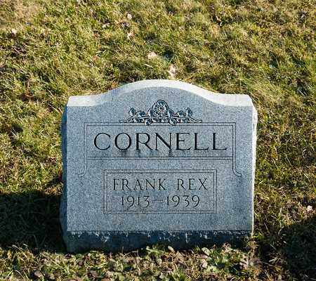 CORNELL, FRANK REX - Richland County, Ohio | FRANK REX CORNELL - Ohio Gravestone Photos