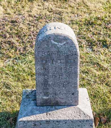 CORNELL, FRANK BEST - Richland County, Ohio | FRANK BEST CORNELL - Ohio Gravestone Photos