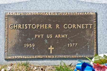 CORNETT, CHRISTOPHER R - Richland County, Ohio | CHRISTOPHER R CORNETT - Ohio Gravestone Photos