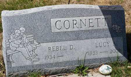 CORNETT, LUCY A - Richland County, Ohio | LUCY A CORNETT - Ohio Gravestone Photos