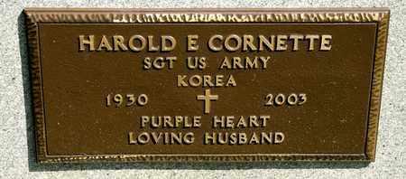 CORNETTE, HAROLD E - Richland County, Ohio | HAROLD E CORNETTE - Ohio Gravestone Photos
