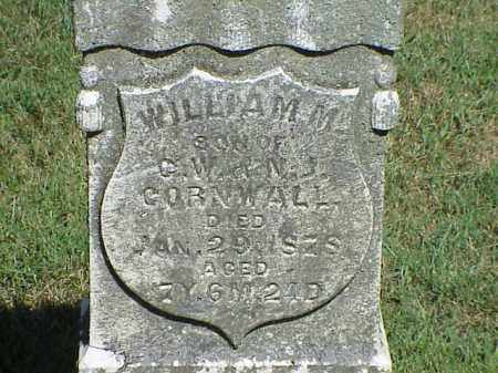 CORNWALL, WILLIAM W. - Richland County, Ohio | WILLIAM W. CORNWALL - Ohio Gravestone Photos
