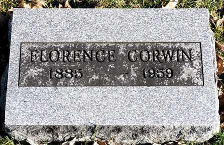 CORWIN, FLORENCE - Richland County, Ohio | FLORENCE CORWIN - Ohio Gravestone Photos