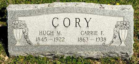 CORY, HUGH M - Richland County, Ohio | HUGH M CORY - Ohio Gravestone Photos