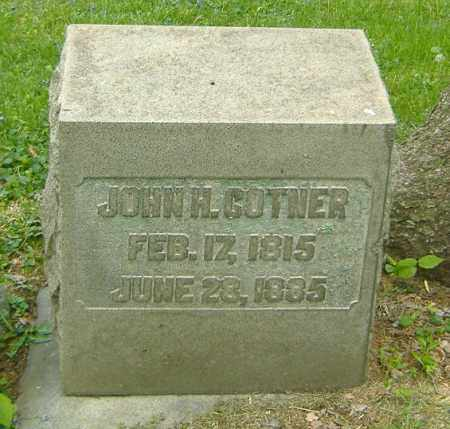 COTNER, JOHN H. - Richland County, Ohio | JOHN H. COTNER - Ohio Gravestone Photos