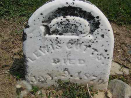 COTTS, LEWIS - Richland County, Ohio | LEWIS COTTS - Ohio Gravestone Photos