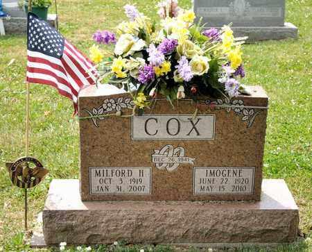 COX, IMOGENE - Richland County, Ohio | IMOGENE COX - Ohio Gravestone Photos